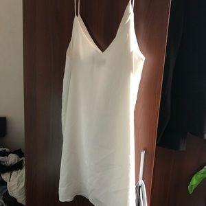 Lulu silk mini dress